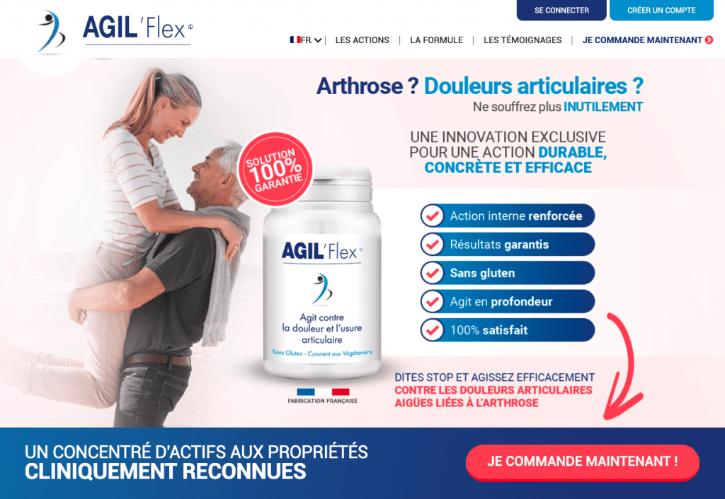 Site officiel d'Agil'Flex